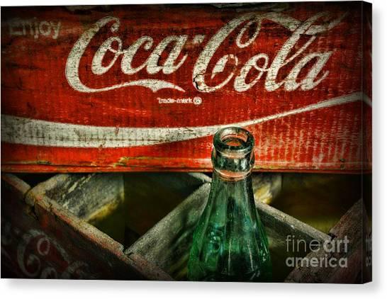 Soda Canvas Print - Vintage Coca-cola by Paul Ward