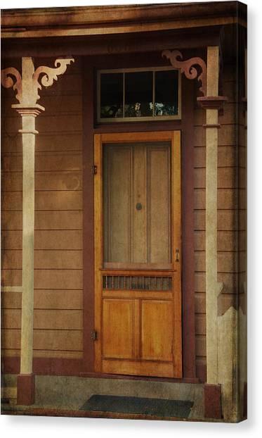 Vintage Doorway Canvas Print