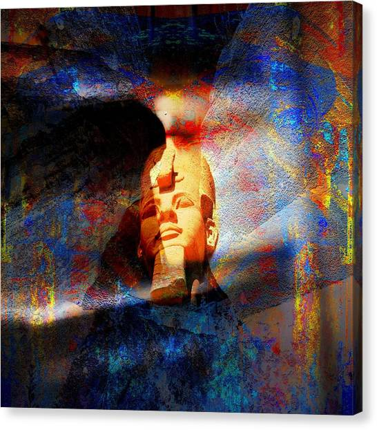Vintage Egypt Canvas Print by Agostino Lo Coco