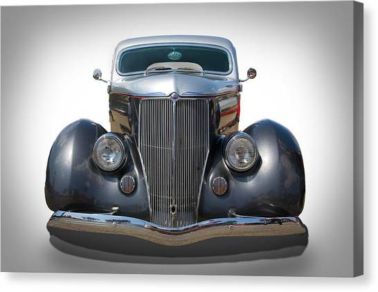 Vintage Ford Canvas Print by Peter Tellone