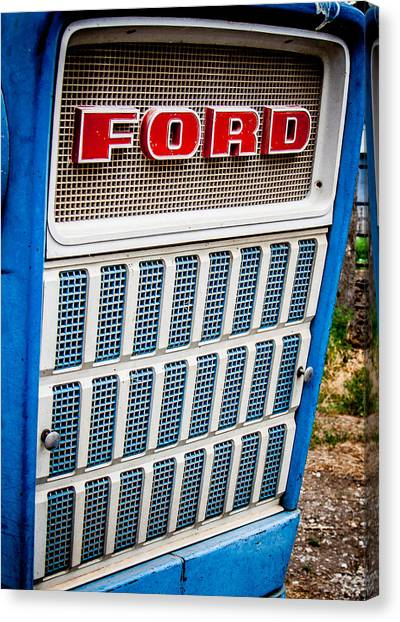 Vintage Ford Tractoy Canvas Print