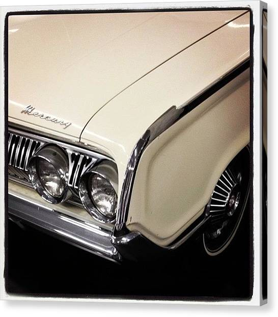 Mercury Canvas Print - #vintage #mercury #carcorners #mv_cars by Mike Valentine