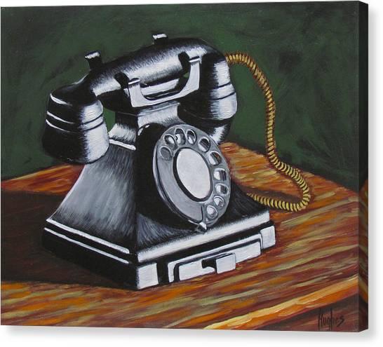 Vintage Phone 2 Canvas Print