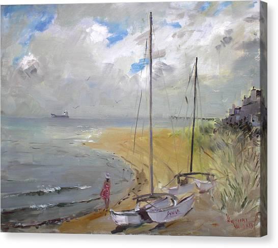 Virginia Canvas Print - Viola In Virginia Beach by Ylli Haruni