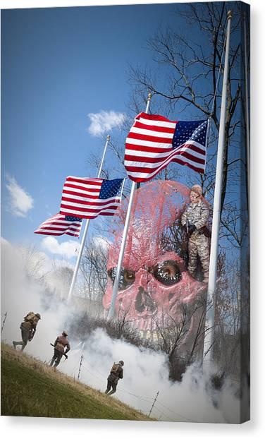 Violence Usa Canvas Print