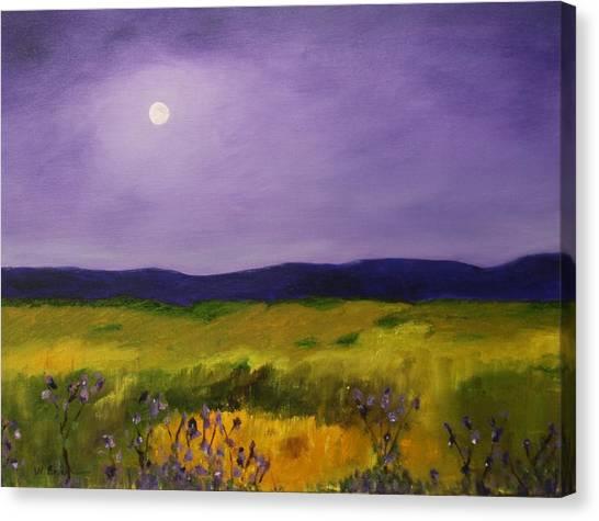 Violet Sunrise Canvas Print