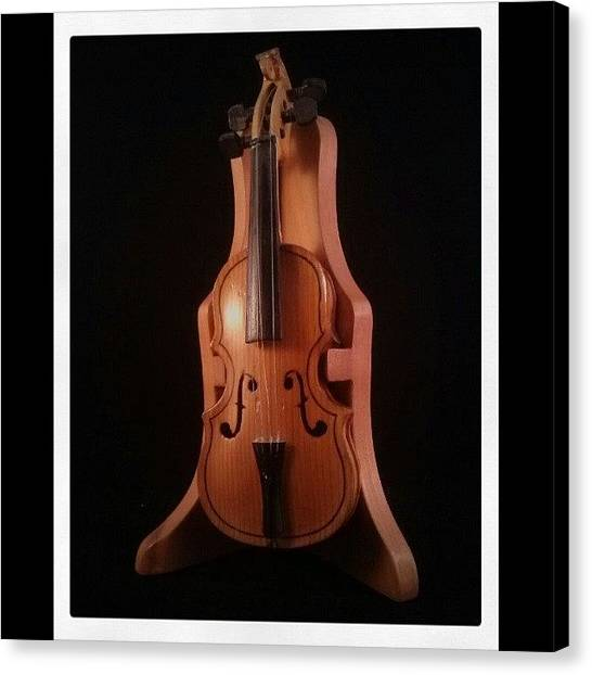 Violins Canvas Print - #violin by Miguel Alvarado