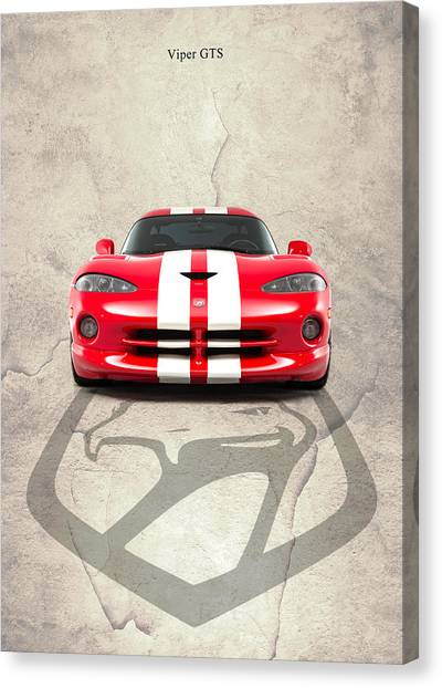 Vipers Canvas Print - Viper Gts by Mark Rogan