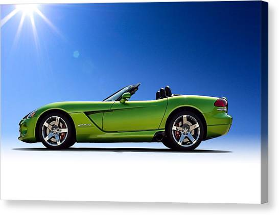 Vipers Canvas Print - Viper Roadster by Douglas Pittman