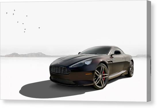 British Canvas Print - Virage by Douglas Pittman