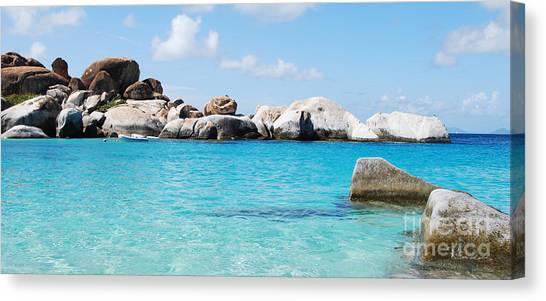 Virgin Islands The Baths Canvas Print