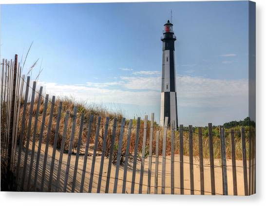 Virginia Beach Canvas Print by JC Findley