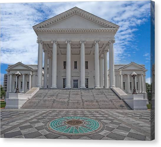 Virginia Capitol Canvas Print