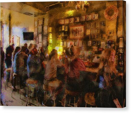 Virginia City Bar Canvas Print