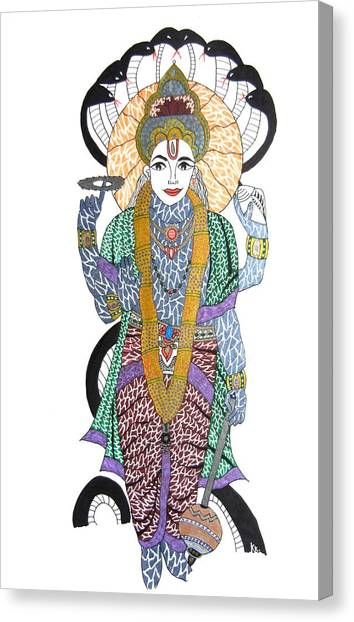Vishnu II Canvas Print