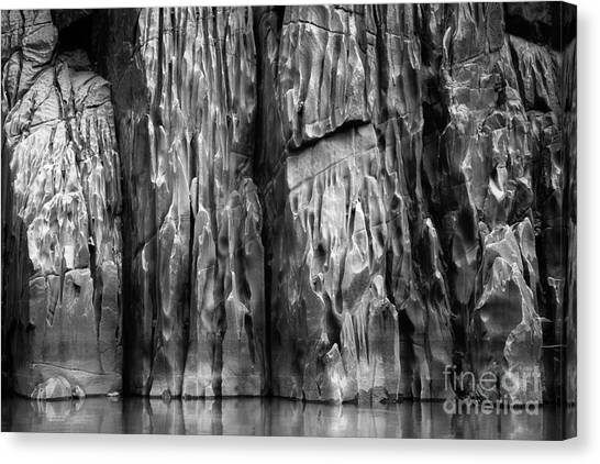 Splashy Canvas Print - Vishnu Schist by Inge Johnsson