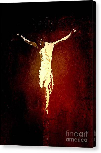 Vision Of Christ Canvas Print