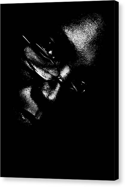 Vision Portrait 1 Canvas Print