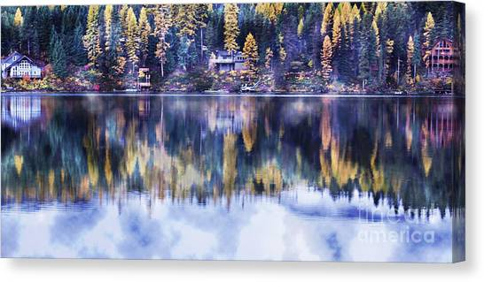 Visions- Lake Inez Canvas Print