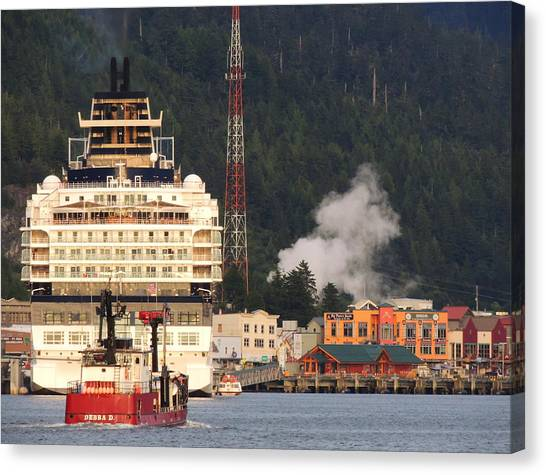 visit Alaska Canvas Print