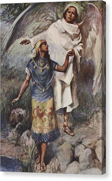 Apparition Canvas Print - Visitation by William Sewell
