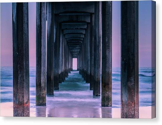 Pier Canvas Print - Vista by Andreas Agazzi
