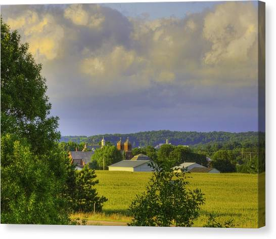 Vista At Tildon Wisconsin Canvas Print
