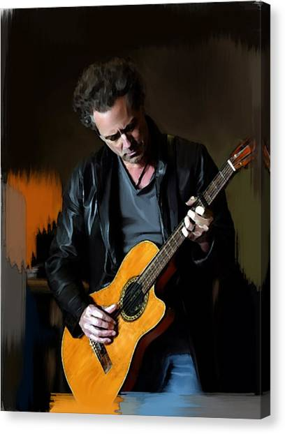 Vivid  Lindsey Buckingham  Canvas Print