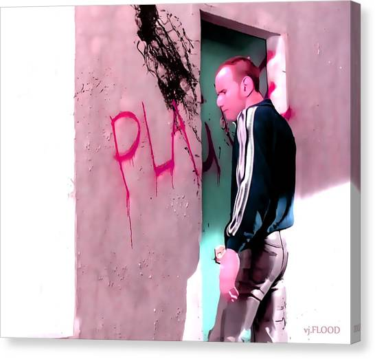 Trainspotting Canvas Print - Vj.flood Vs Trainspotting - Plague.  by Vj Flood