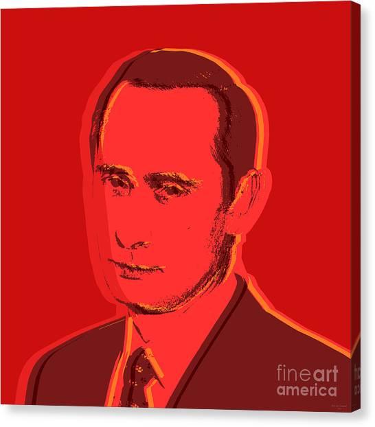 Vladimir Putin Canvas Print