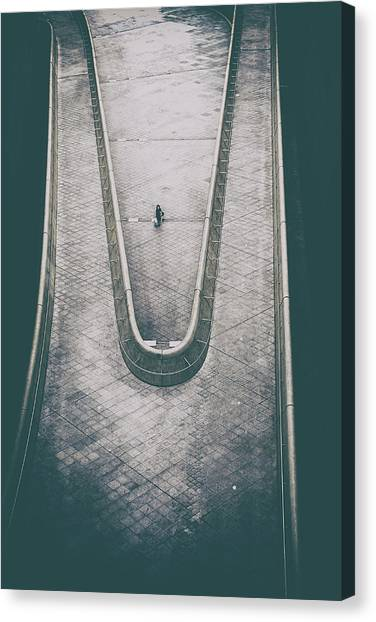 Voiceless Canvas Print by Fahad Abdualhameid