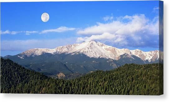 Volcanic Pikes Peak Canvas Print