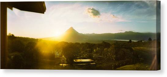Arenal Volcano Canvas Print - Volcano In A Forest, Arenal Volcano by Panoramic Images