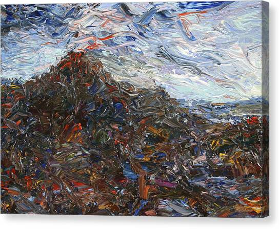 Lava Canvas Print - Volcano by James W Johnson