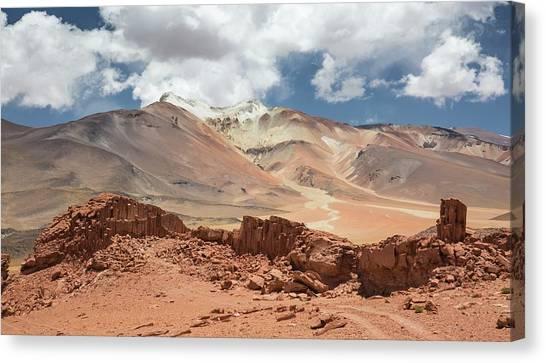 Atacama Desert Canvas Print - Volcano Puntas Negras by Peter J. Raymond