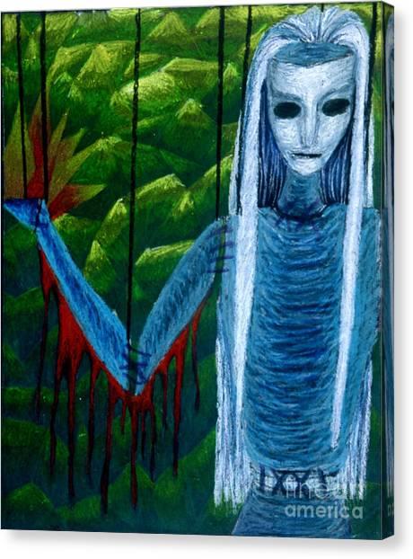 Voodoo II The Effects Of Voodoo Canvas Print by Coriander  Shea