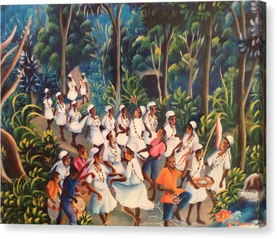 Voodoo Procession Canvas Print