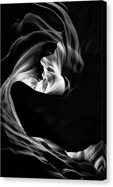 Canyon Canvas Print - Vortex Of Lights by Andrew J. Lee