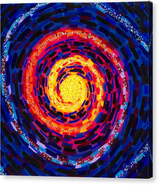 Vortex Canvas Print by Patrick OLeary