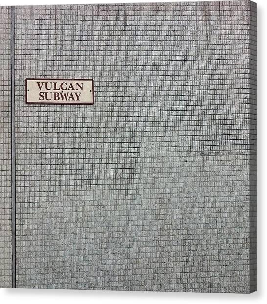 Vulcans Canvas Print - #vulcan #street by Adam Slater