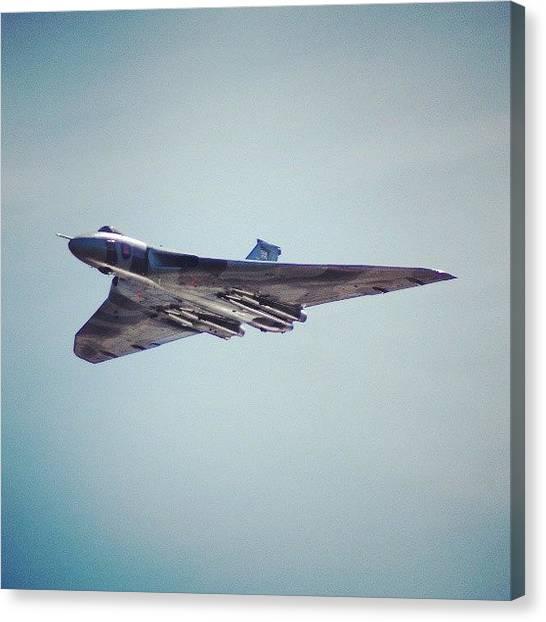 Vulcans Canvas Print - #vulcan #vbomber by Suzanne Scott