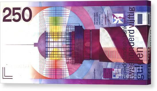 Vuurtoren Canvas Print