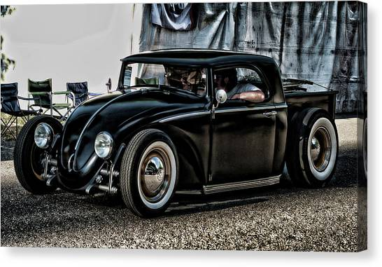 Vw Bug Canvas Print