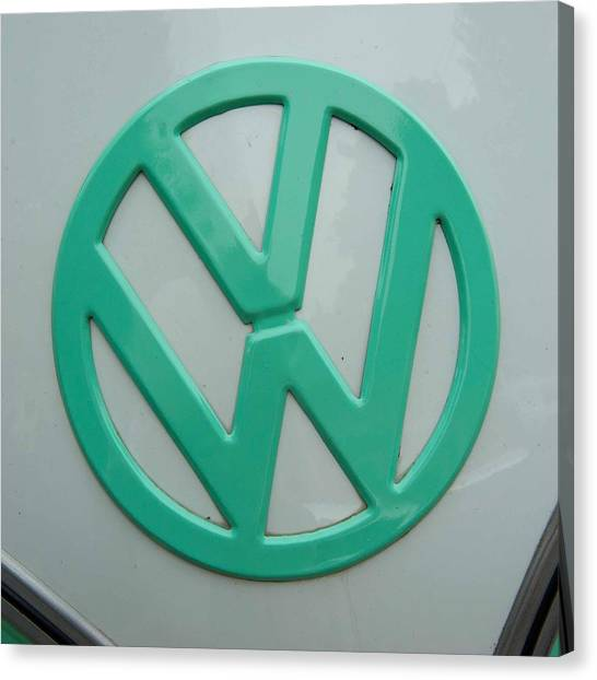 Vw Logo Canvas Print