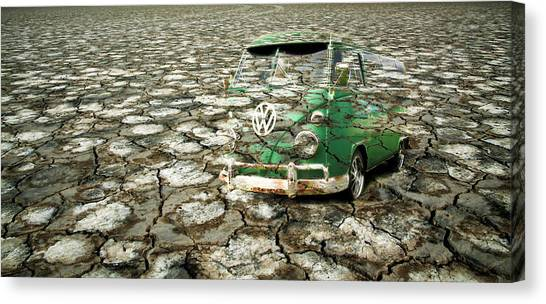 Canvas Print - Vw Micro Mirage by Steve McKinzie