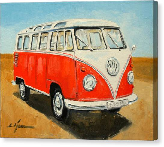 Vw Transporter T1 Canvas Print