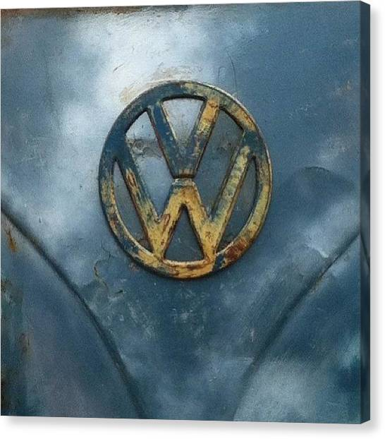 Vw Bus Canvas Print - #vw #vdub #vwbus #vwlove #vwcamper by Jimmy Lindsay