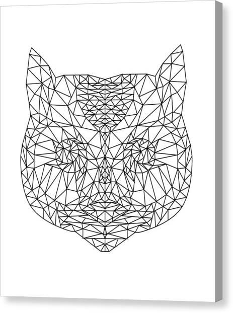 Owls Canvas Print - W I S D O M by Joana San Jose