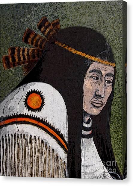 Wabanaki Warrior Canvas Print
