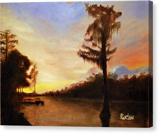 Waccamaw Evening Canvas Print